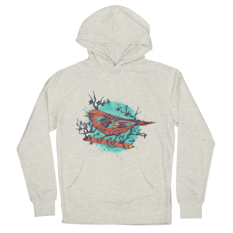 bird Men's Pullover Hoody by itssummer85's Artist Shop