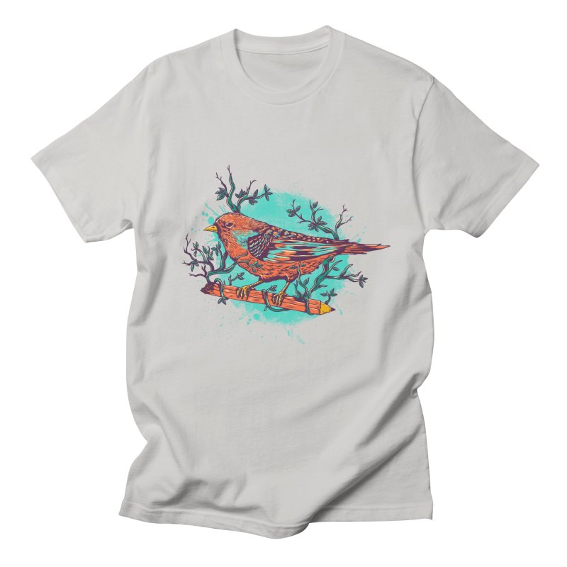 bird Men's T-Shirt by itssummer85's Artist Shop