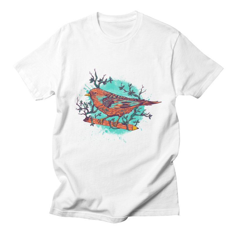 bird Men's T-shirt by itssummer85's Artist Shop