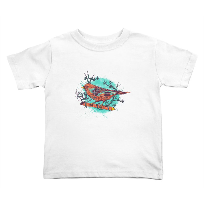 bird Kids Toddler T-Shirt by itssummer85's Artist Shop