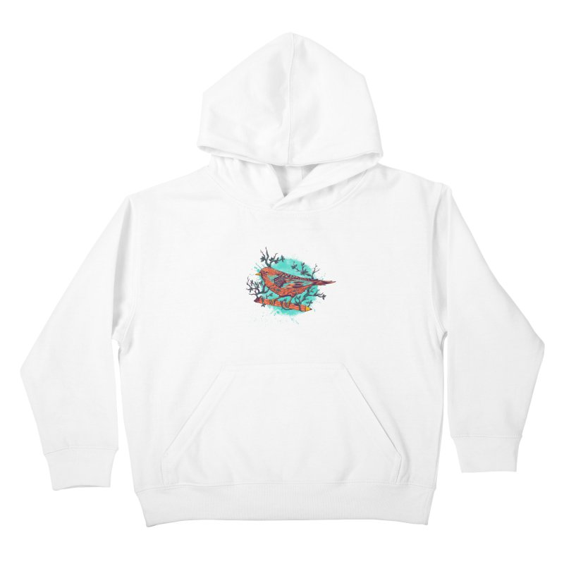 bird Kids Pullover Hoody by itssummer85's Artist Shop