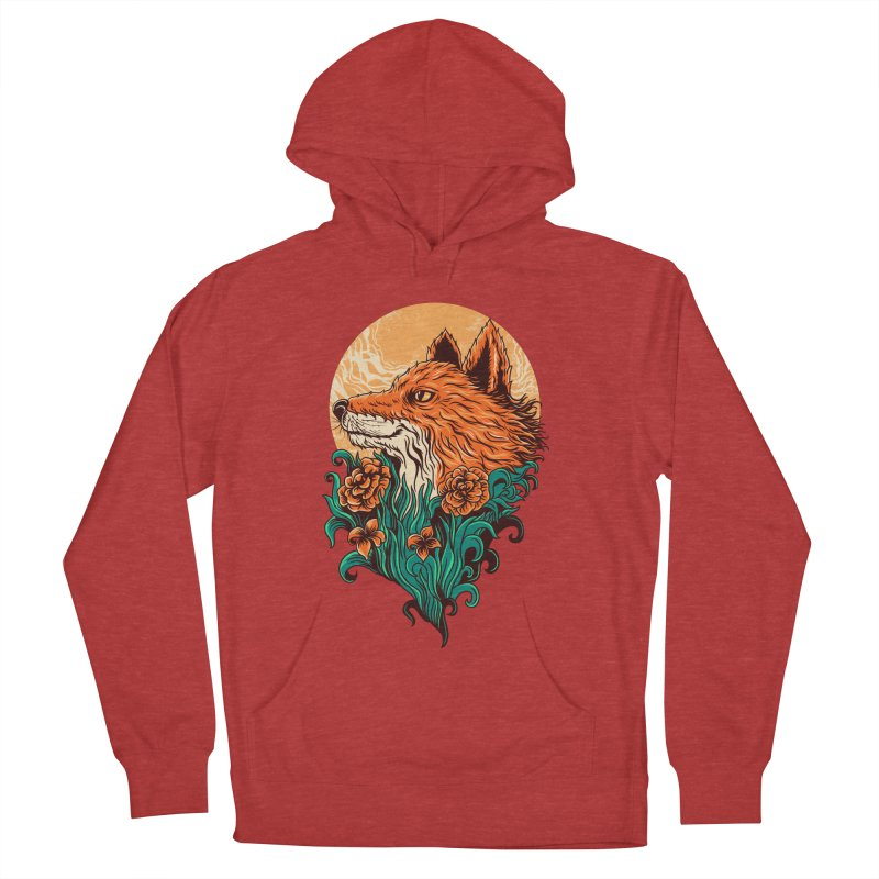fox Women's Pullover Hoody by itssummer85's Artist Shop