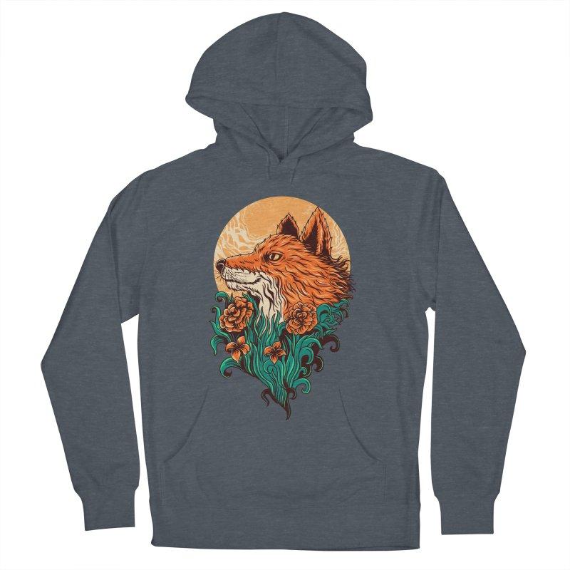 fox Men's Pullover Hoody by itssummer85's Artist Shop
