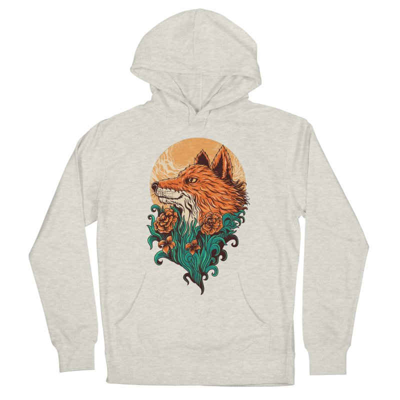 fox Men's Pullover Hoody by itssummer85's Artist Shop