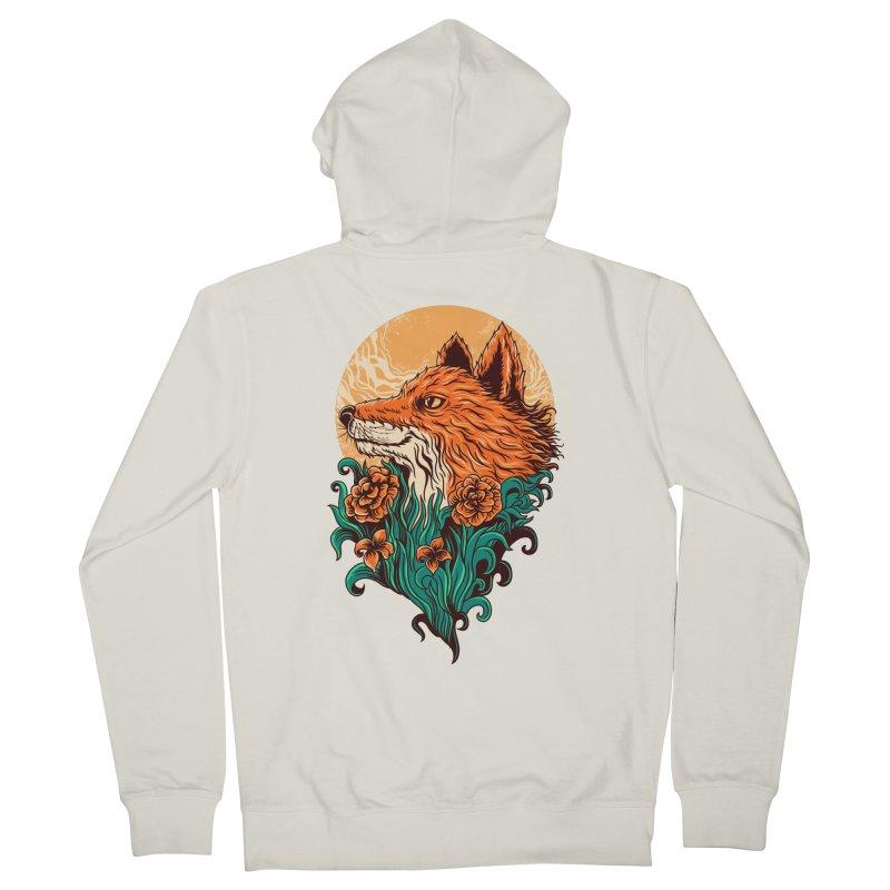 fox Men's Zip-Up Hoody by itssummer85's Artist Shop
