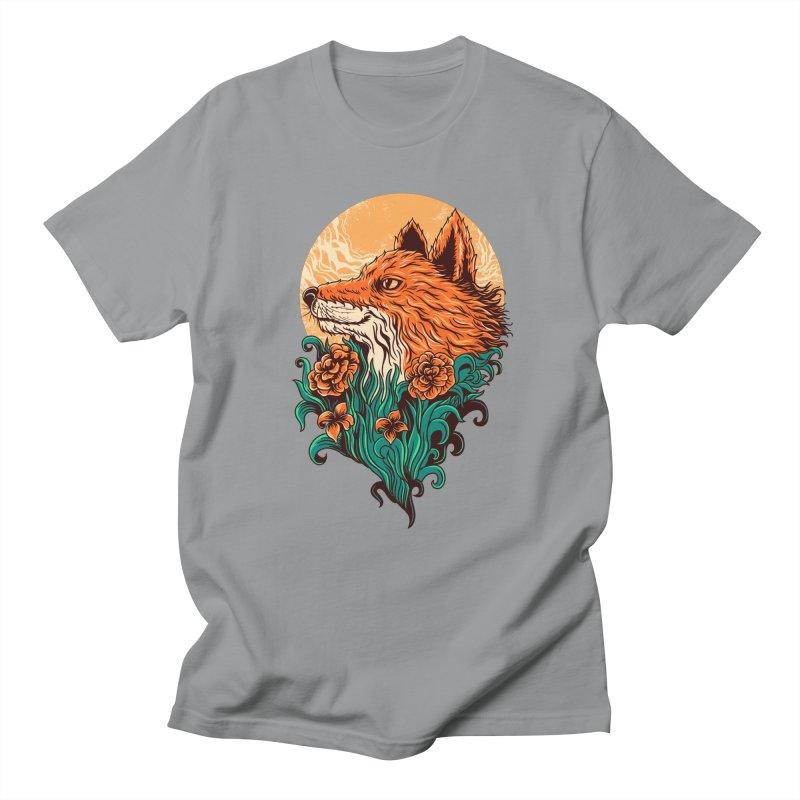 fox Men's T-Shirt by itssummer85's Artist Shop