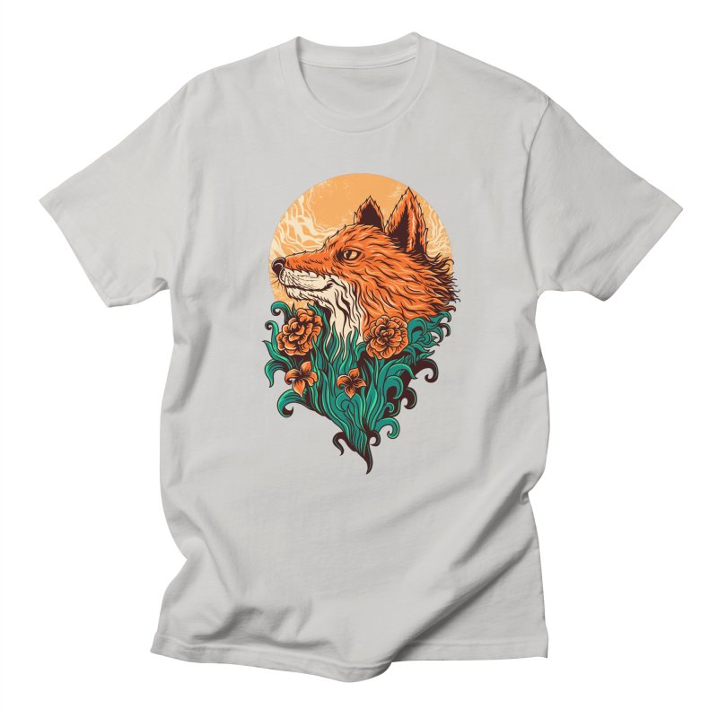 fox Men's T-shirt by itssummer85's Artist Shop