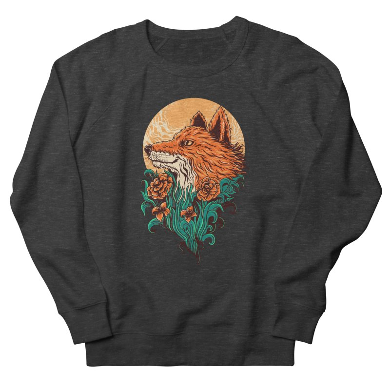 fox Men's Sweatshirt by itssummer85's Artist Shop