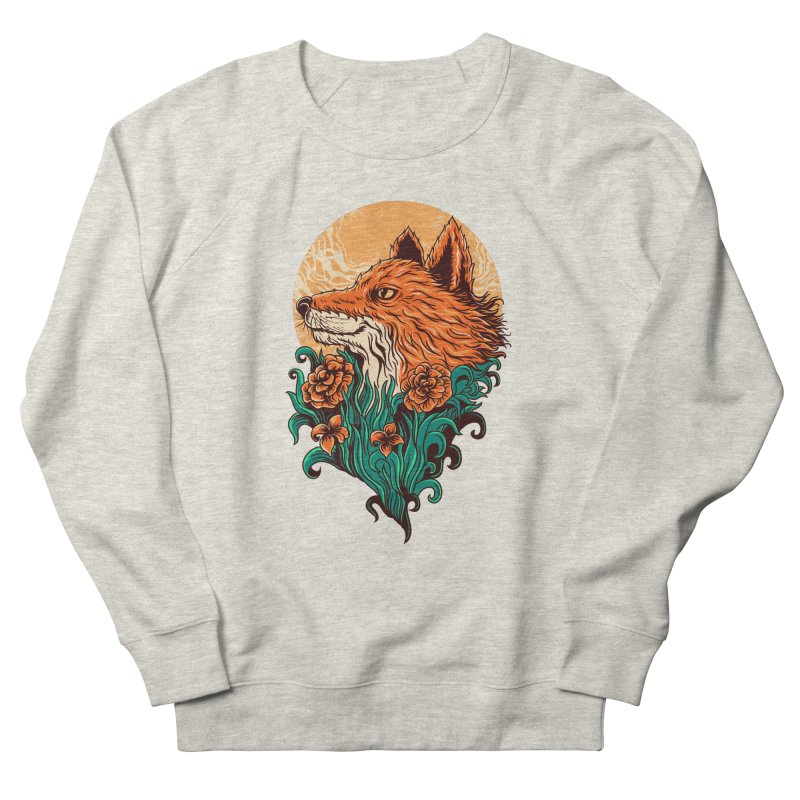 fox Men's Sweatshirt by itssummer85's Artist Shop