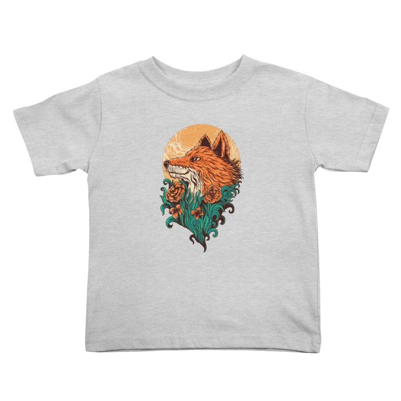 fox Kids Toddler T-Shirt by itssummer85's Artist Shop
