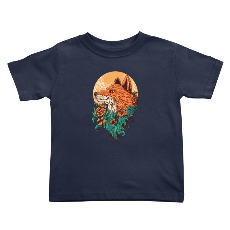 fox Kids Toddler T-Shirt by itssummer85's Artist Shop