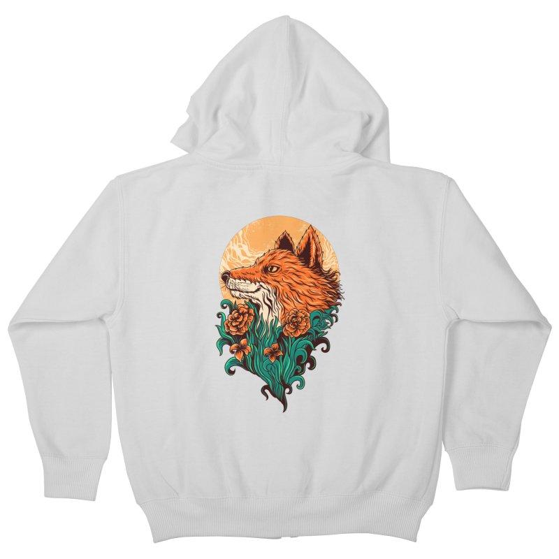 fox Kids Zip-Up Hoody by itssummer85's Artist Shop