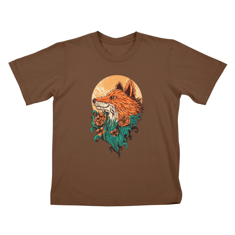 fox Kids T-shirt by itssummer85's Artist Shop