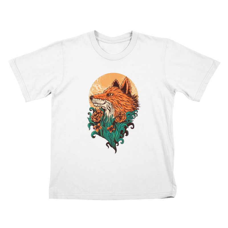 fox Kids T-Shirt by itssummer85's Artist Shop