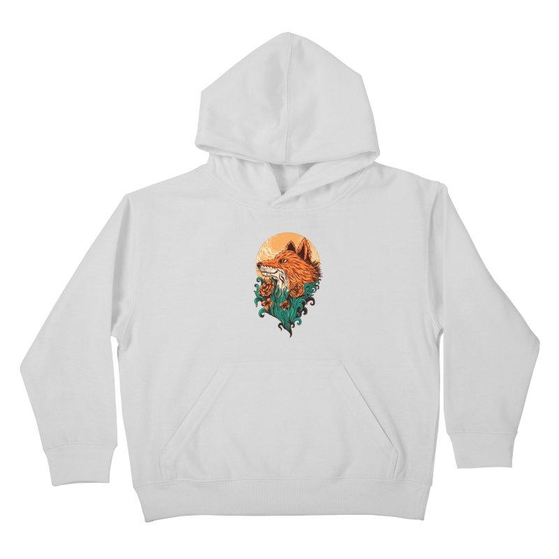 fox Kids Pullover Hoody by itssummer85's Artist Shop