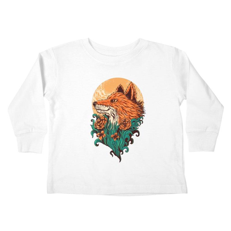 fox Kids Toddler Longsleeve T-Shirt by itssummer85's Artist Shop
