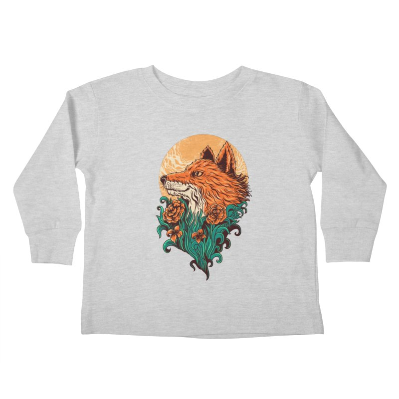 fox Kids Toddler Longsleeve T-Shirt by itssummer85's Artist Shop