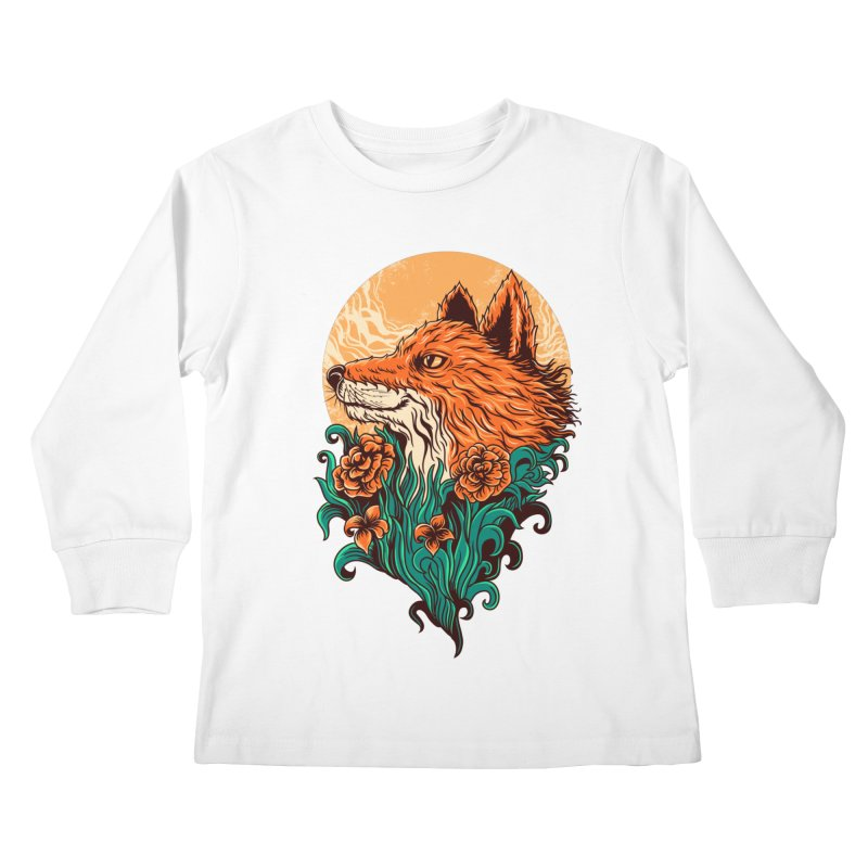 fox Kids Longsleeve T-Shirt by itssummer85's Artist Shop