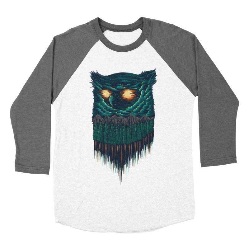 forest Men's Baseball Triblend T-Shirt by itssummer85's Artist Shop