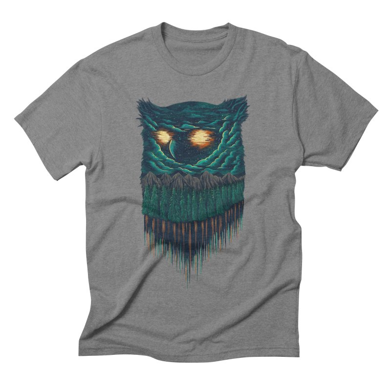 forest Men's Triblend T-shirt by itssummer85's Artist Shop
