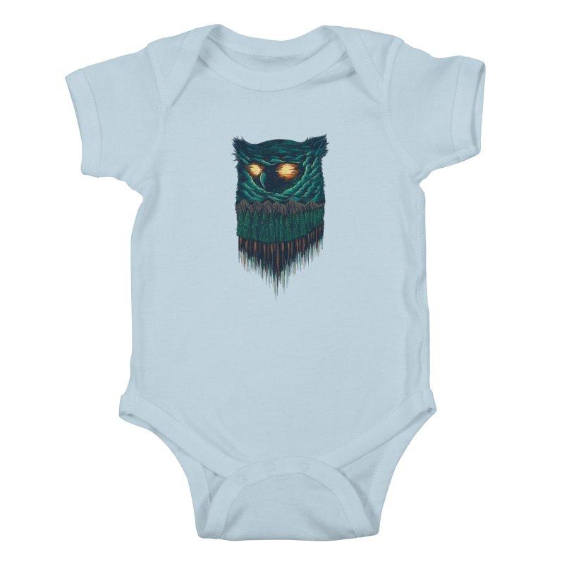 forest Kids Baby Bodysuit by itssummer85's Artist Shop