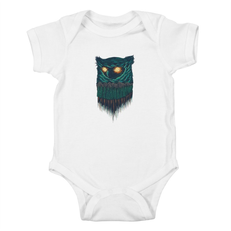 forest Kids Baby Bodysuit by itssummer85's Artist Shop
