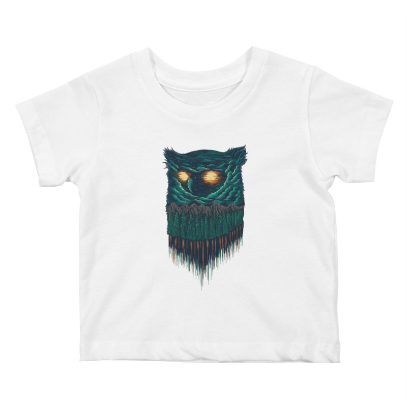 forest Kids Baby T-Shirt by itssummer85's Artist Shop