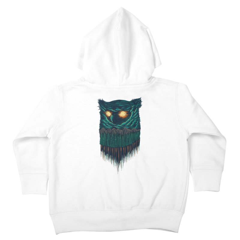forest Kids Toddler Zip-Up Hoody by itssummer85's Artist Shop