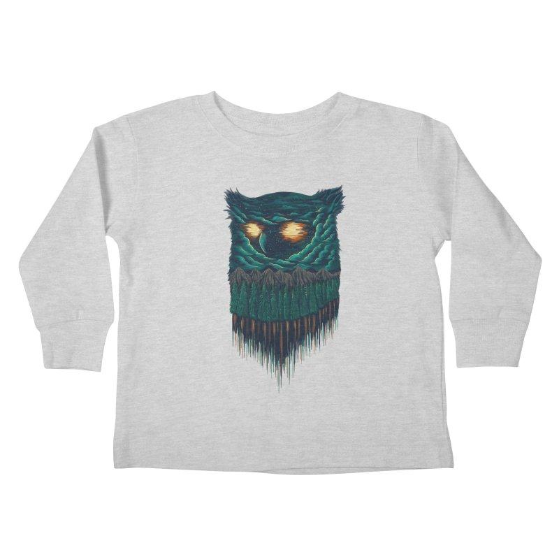 forest Kids Toddler Longsleeve T-Shirt by itssummer85's Artist Shop