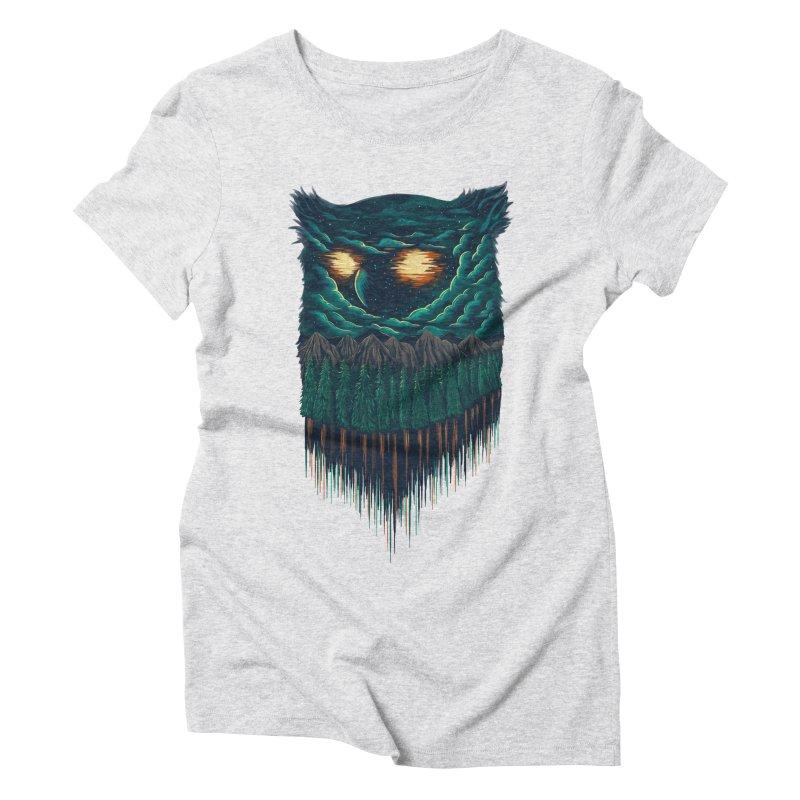 forest Women's Triblend T-shirt by itssummer85's Artist Shop