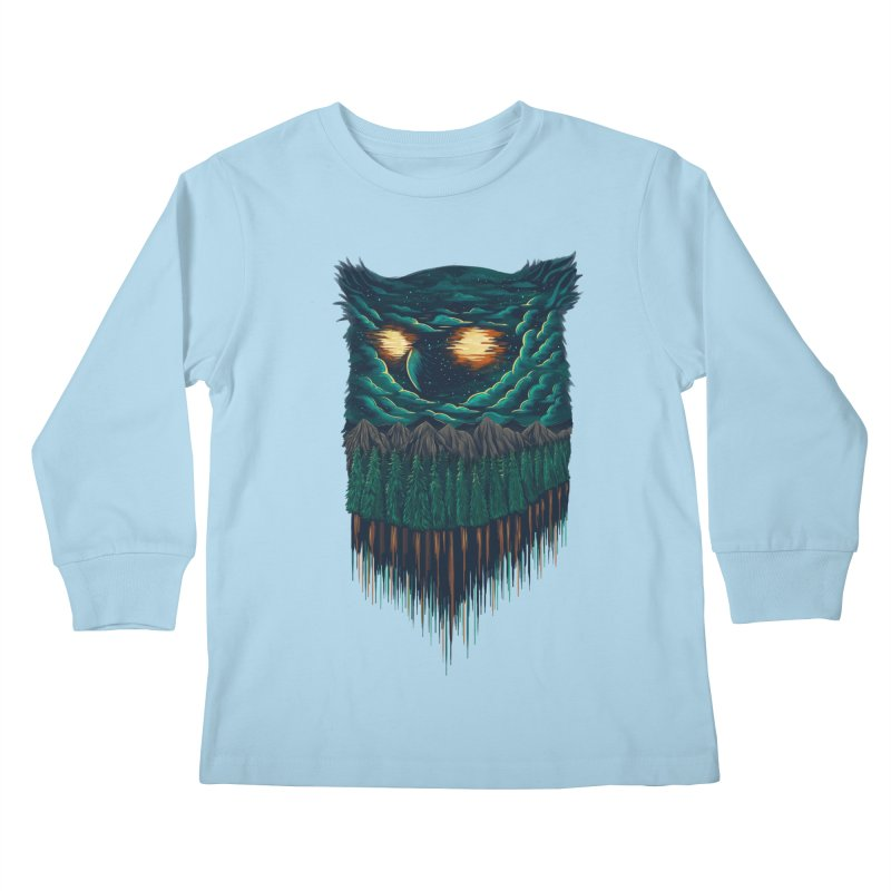 forest Kids Longsleeve T-Shirt by itssummer85's Artist Shop