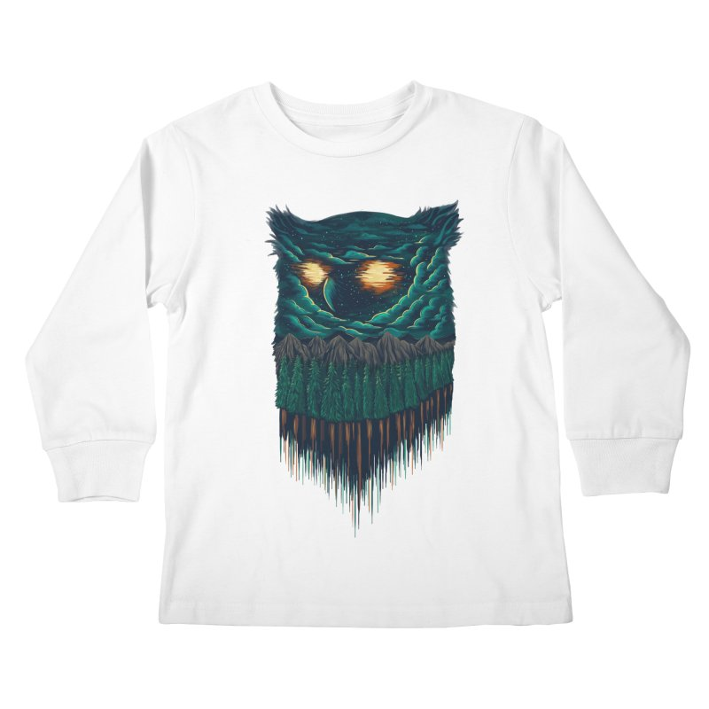 forest Kids Longsleeve T-Shirt by itssummer85's Artist Shop