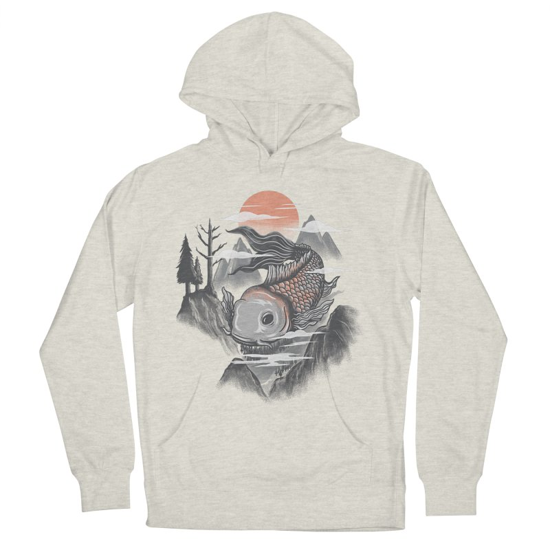 koi Men's Pullover Hoody by itssummer85's Artist Shop