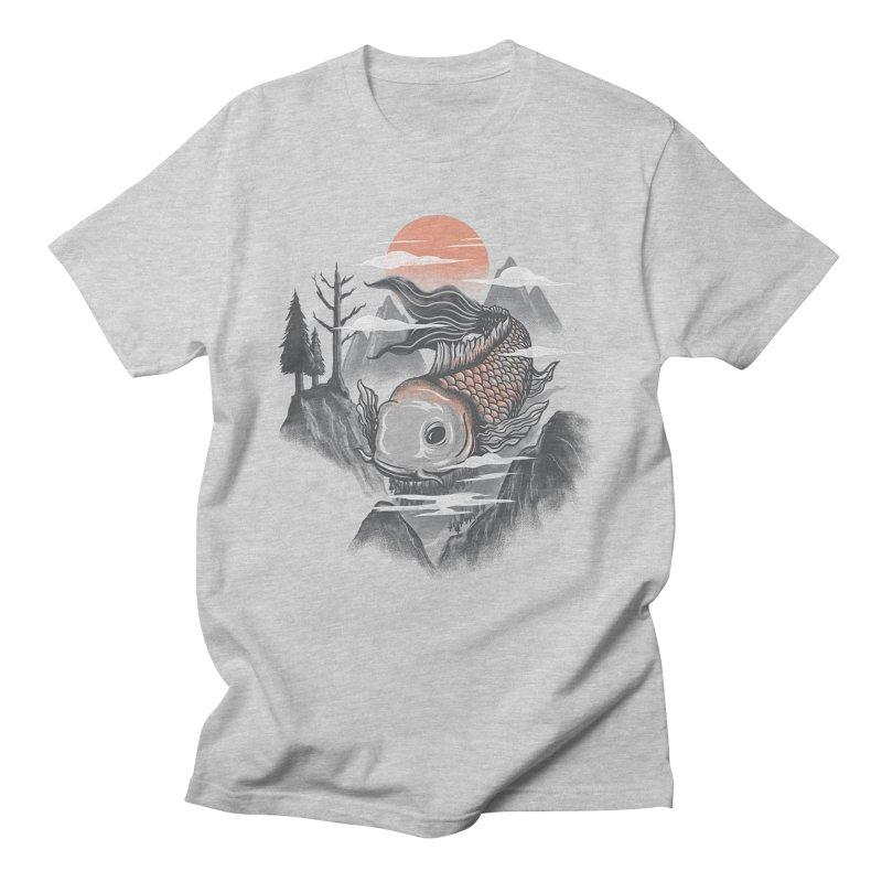koi Men's T-Shirt by itssummer85's Artist Shop