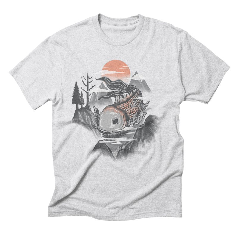 koi Men's Triblend T-Shirt by itssummer85's Artist Shop