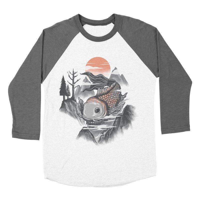 koi Men's Baseball Triblend T-Shirt by itssummer85's Artist Shop