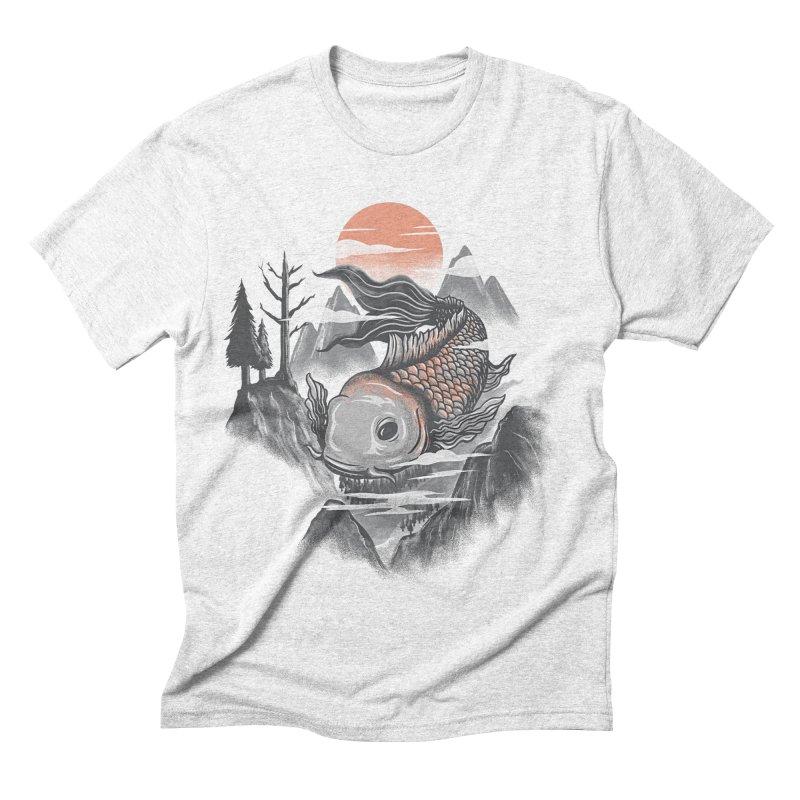 koi Men's Triblend T-shirt by itssummer85's Artist Shop