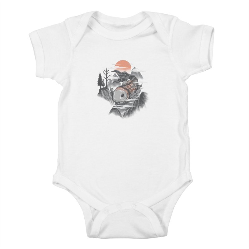 koi Kids Baby Bodysuit by itssummer85's Artist Shop