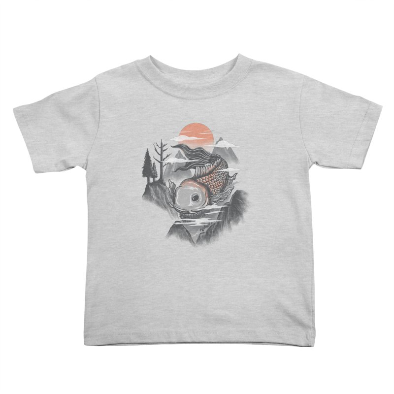 koi Kids Toddler T-Shirt by itssummer85's Artist Shop