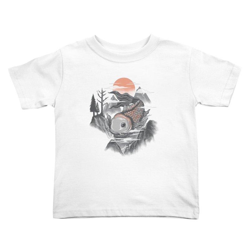 koi Kids Toddler T-Shirt by itssummer85's Artist Shop