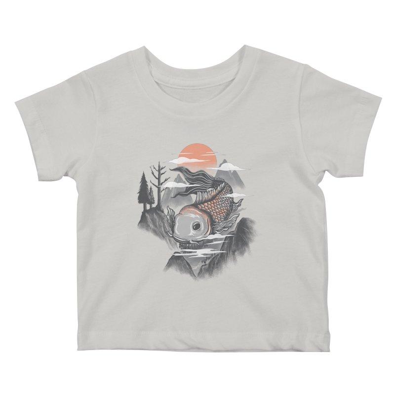 koi Kids Baby T-Shirt by itssummer85's Artist Shop