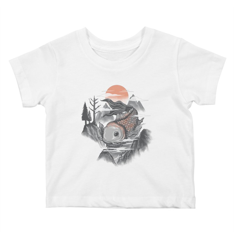 koi Kids Baby T-Shirt by itssummer85's Artist Shop