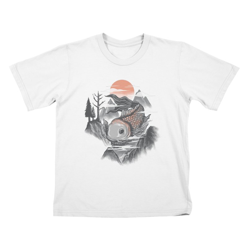 koi Kids T-shirt by itssummer85's Artist Shop