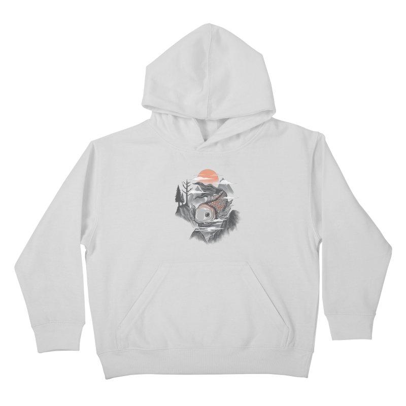 koi Kids Pullover Hoody by itssummer85's Artist Shop