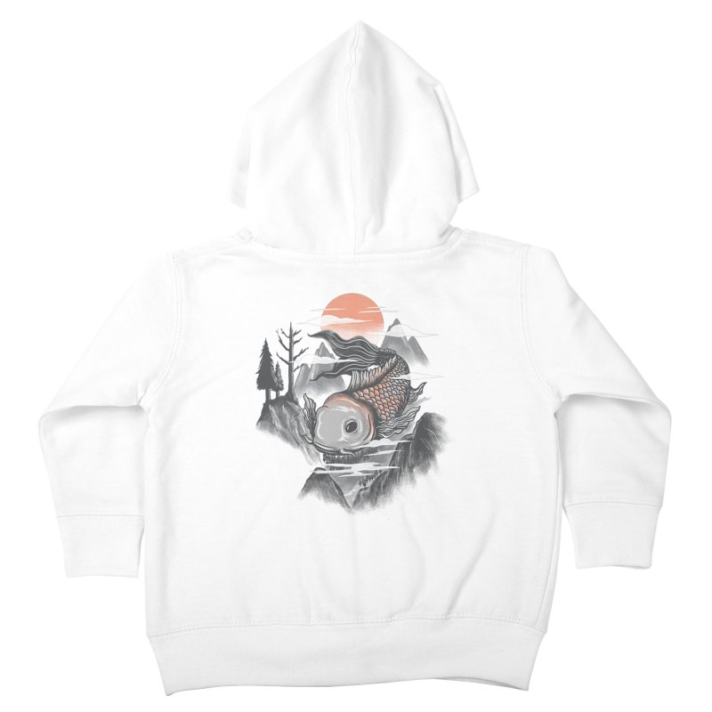 koi Kids Toddler Zip-Up Hoody by itssummer85's Artist Shop