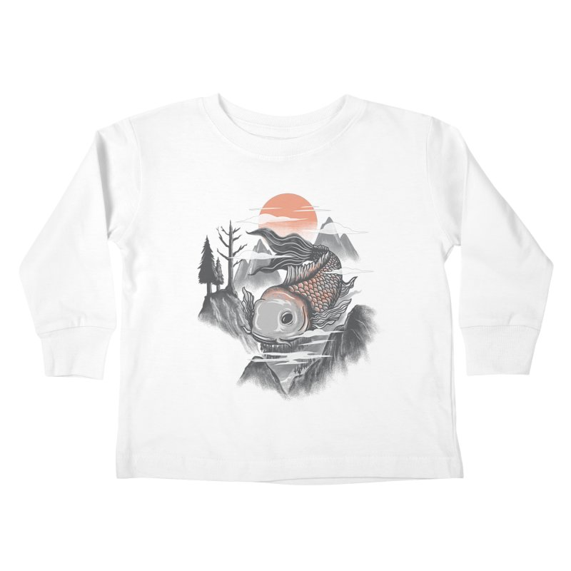 koi Kids Toddler Longsleeve T-Shirt by itssummer85's Artist Shop