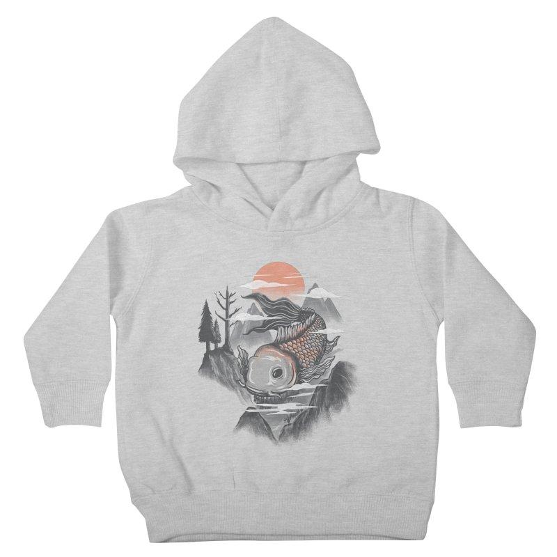 koi Kids Toddler Pullover Hoody by itssummer85's Artist Shop