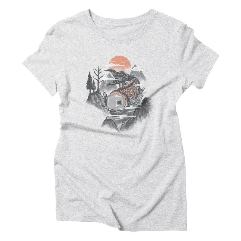 koi Women's Triblend T-shirt by itssummer85's Artist Shop