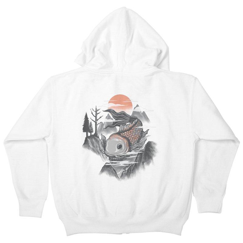 koi Kids Zip-Up Hoody by itssummer85's Artist Shop