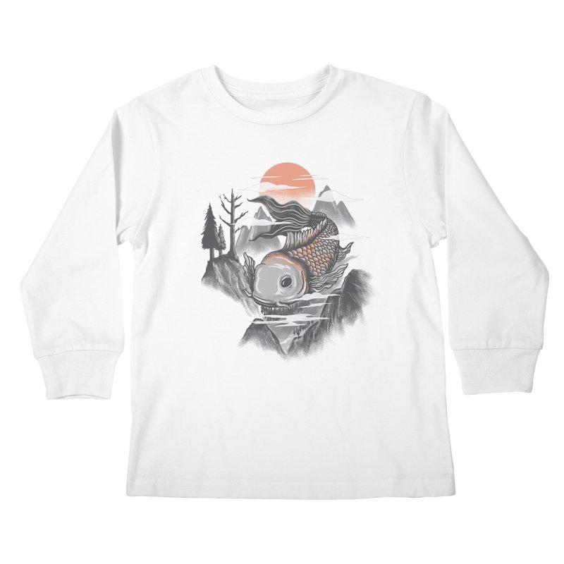 koi Kids Longsleeve T-Shirt by itssummer85's Artist Shop